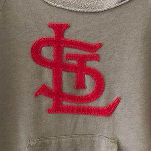 f2cf24bf St Louis Cardinals off shoulder sweatshirt